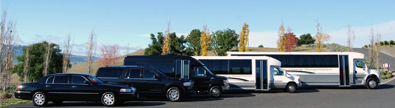 Pure Luxury Transportation Fleet