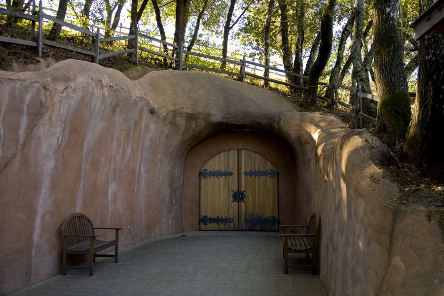 Entrance to the Wine Cave at Benziger Family Winery