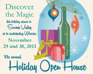 holiday open house logo