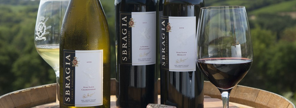Award Winning Sbragia Family Vineyards Estate Wines