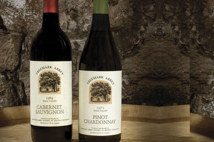A Couple of Freemark Abbey's Historic Wines