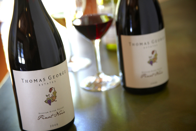 Thomas George Estates Pinot Noir will be one of 60 Competitors for the Pinot Cup at Taste of Pigs & Pinot