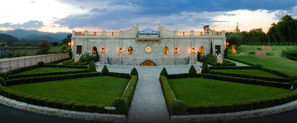 One of Del Dotto Vineyards'  Stunning Locations
