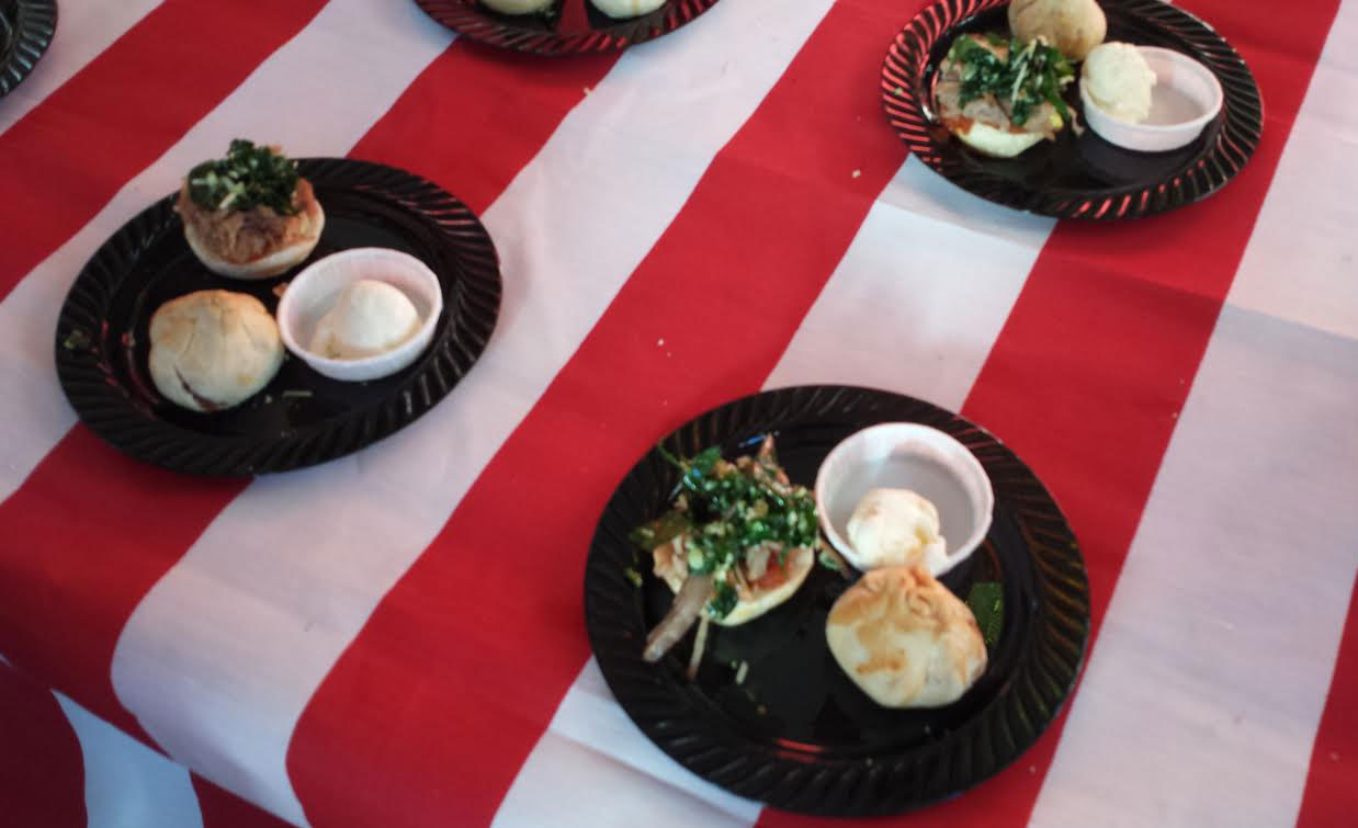 El Molino High School Students & Instructor Chris Correa Teamed with Chef Richard Whipple of Sea Ranch Lodge for a Fourth of July Themed Pulled Pork & Homemade Apple Pie with Ice Cream