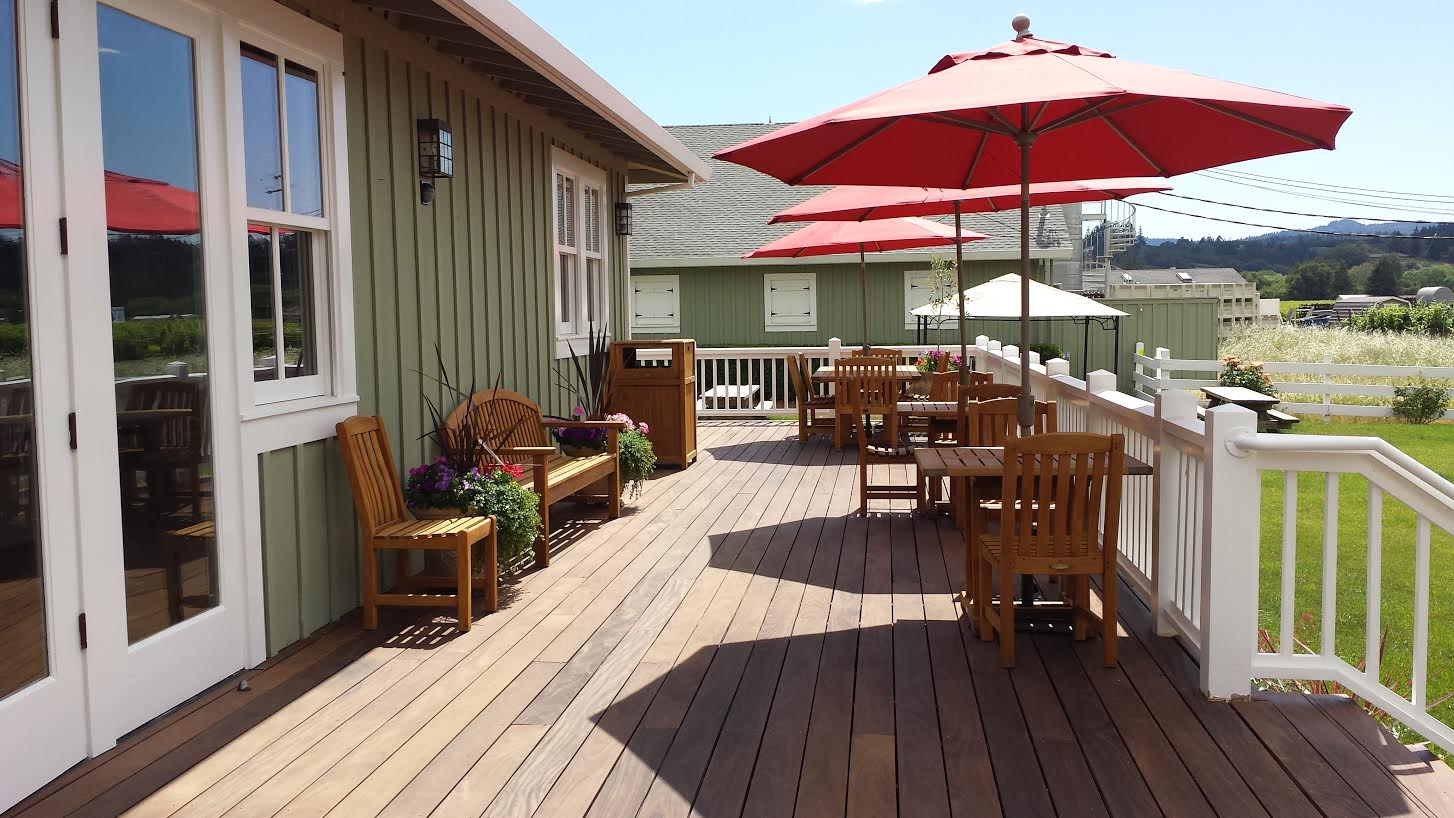 The Back Patio at Geyser Peak Winery