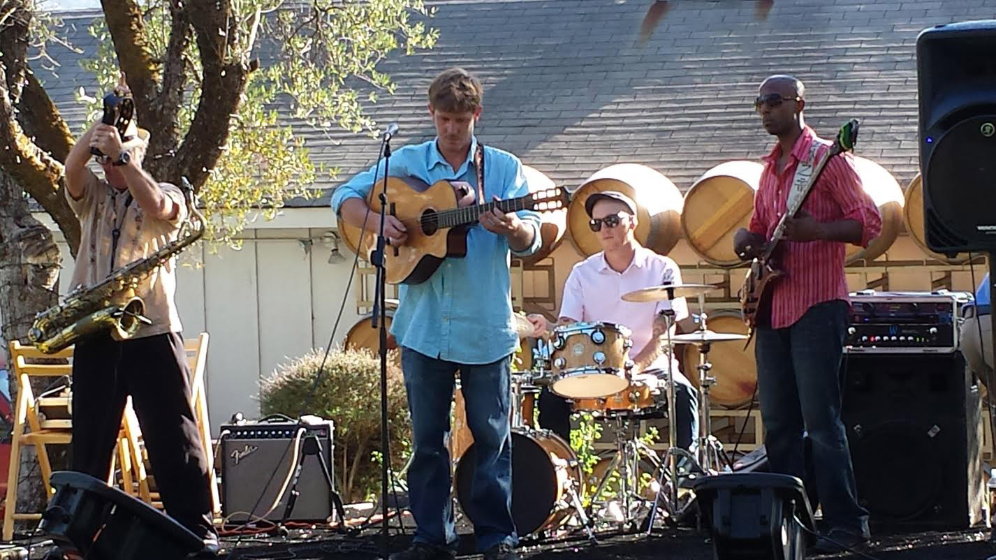 Dgiin Performing at B.R. Cohn Winery in the Olive Grove