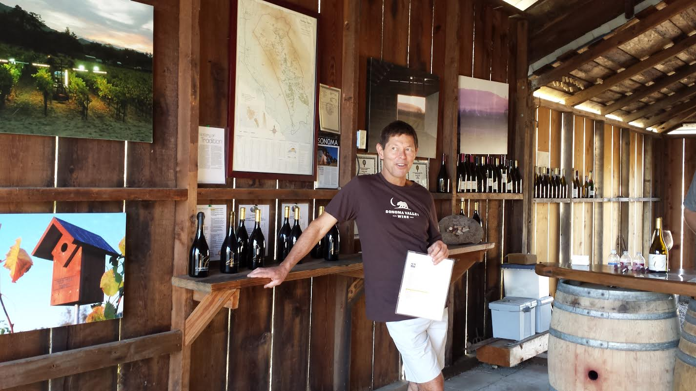 Canihan Family Vineyards Proprietor, Bill Canihan