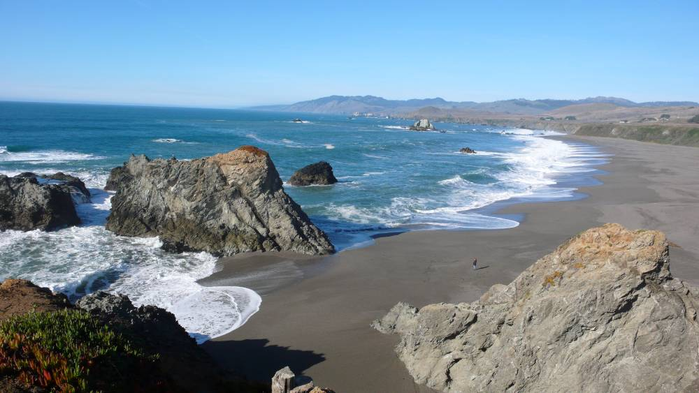 A Beach on the Beautiful Sonoma Coast