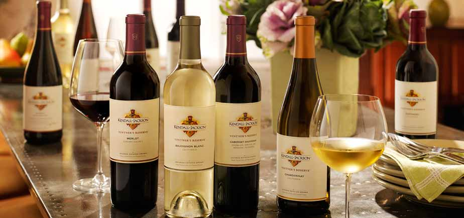 A Collection of Kendall-Jackson Wines