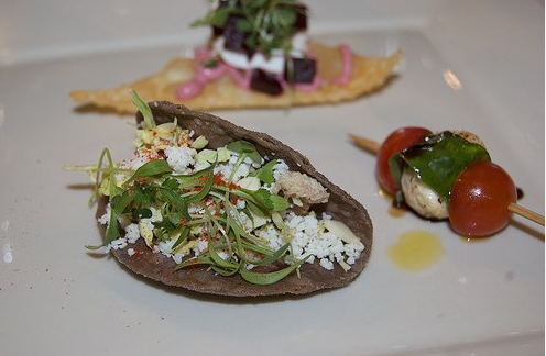 mayo reserve duck confit taco