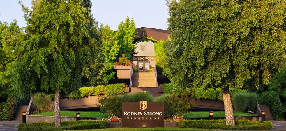 The Entrance at Rodney Strong Vineyards