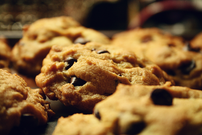 Delicious Wine & Food Pairings at Dutton Estate Winery include Homemade Chocolate Chip Cookies