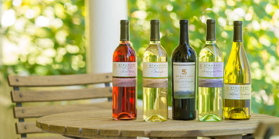 A Collection of Napa Valley's St. Supery Wines