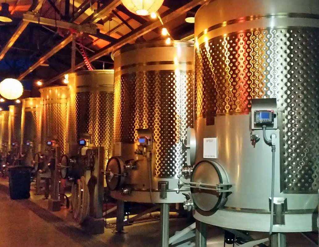 Something Special Brewing Inside the New Winery Building