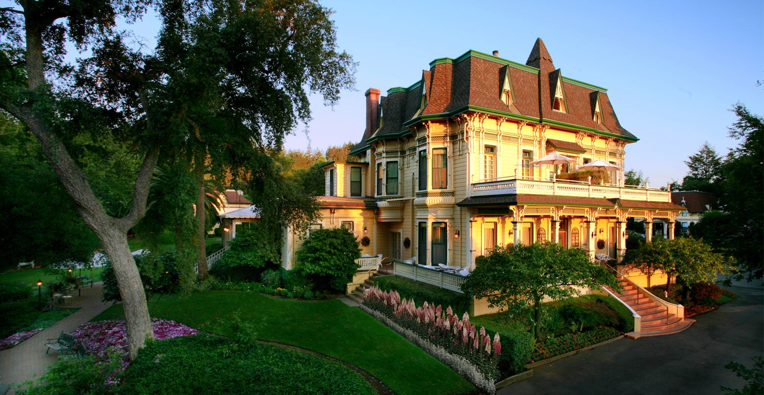 The Madrona Manor Mansion