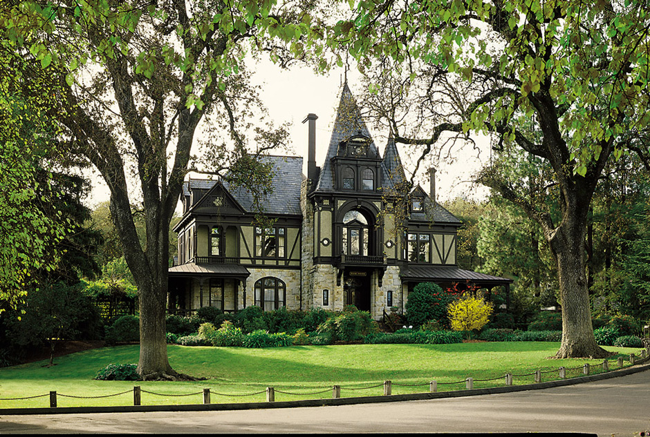 The Rhine House at Beringer Vineyards