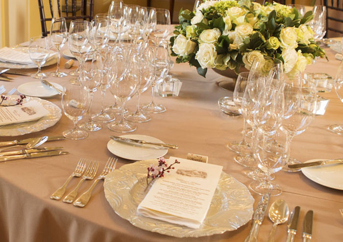 Exquisite & Delicious Dinner Preparation at Jordan Winery's Chateau