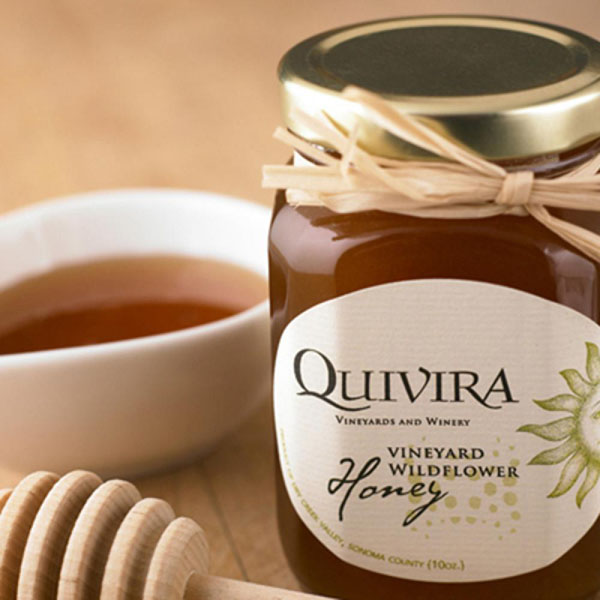 Quivira estate honey