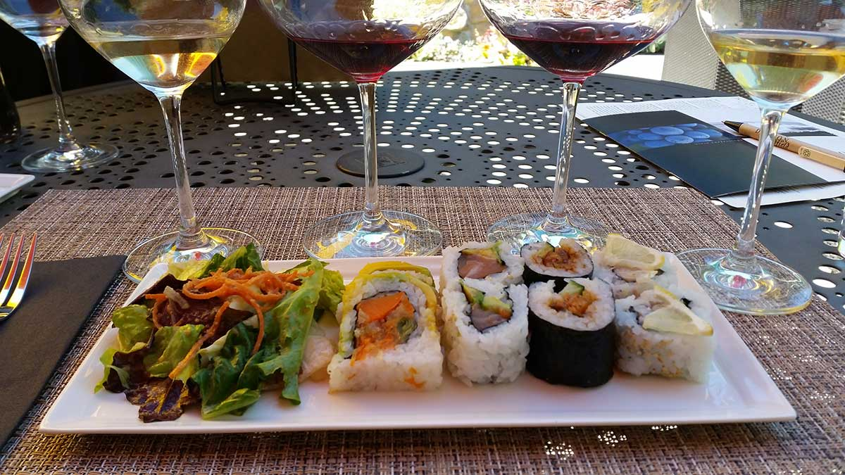 Dutton-Goldfield Sushi & Wine Pairing