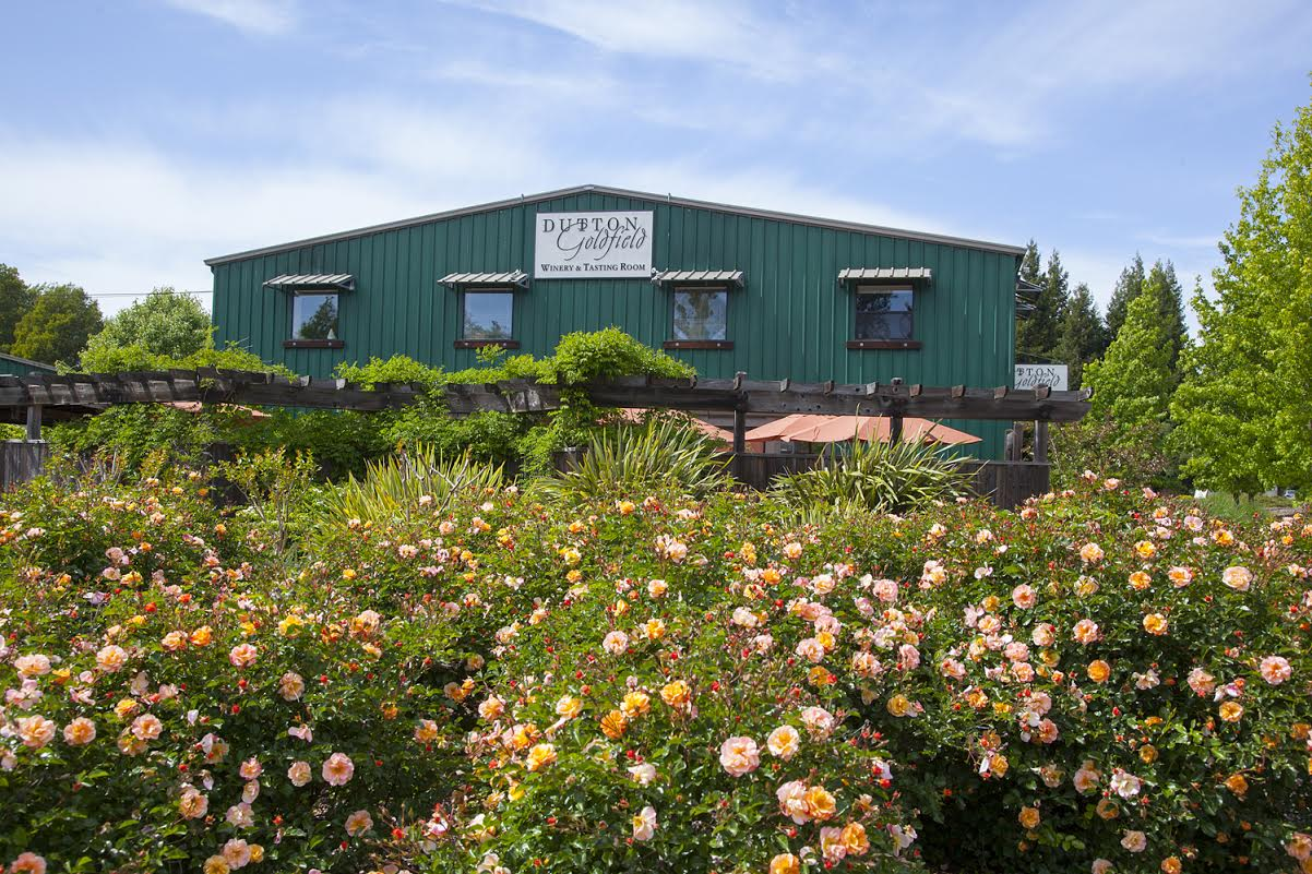 Wines at Dutton-Goldfield Winery